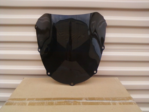 HONDA CBR954RR DARK SMOKE WINDSCREEN