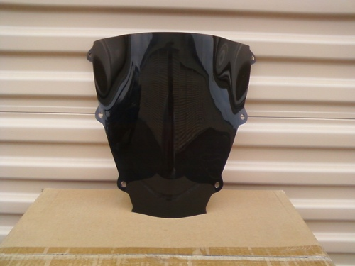 HONDA CBR600RR 2003-2004 DARK SMOKE WINDSCREEN