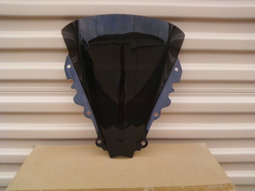 YAMAHA YZF R6 2006 2007 DARK SMOKE WINDSCREEN
