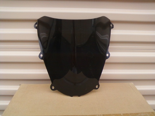 HONDA CBR600RR 2005-2006 DARK SMOKE WINDSCREEN