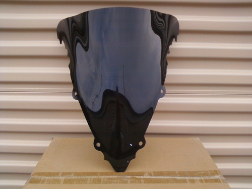 YAMAHA YZF R6 2003-2005 DARK SMOKE WINDSCREEN