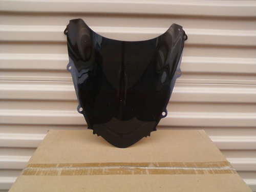 HONDA CBR1000RR 2004-2007 DARK SMOKE WINDSCREEN