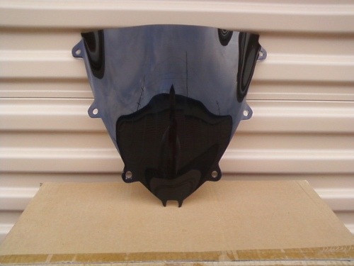 HONDA CBR1000RR 2008-2010 DARK SMOKE WINDSCREEN