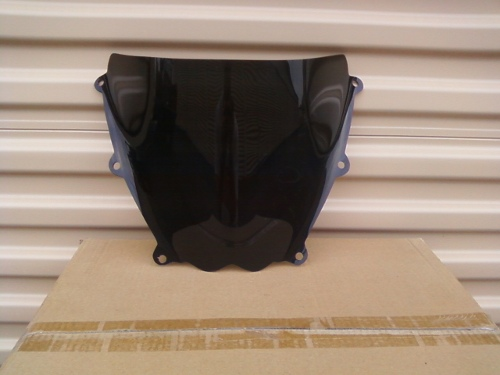 SUZUKI GSX-R1000 2007-2008 DARK SMOKE WINDSCREEN