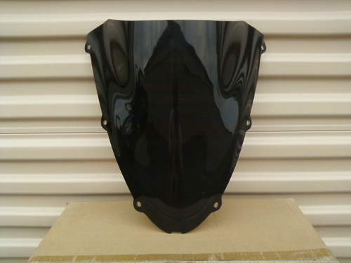 KAWASAKI ZX10R 2006-2007 DARK SMOKE WINDSCREEN