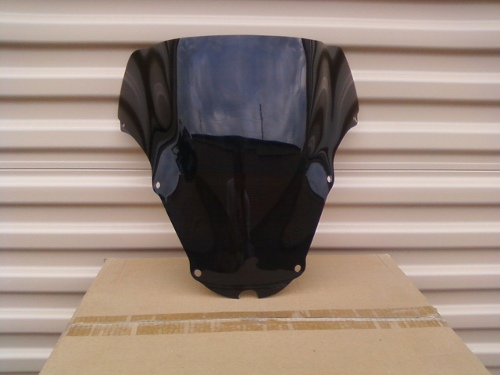 HONDA CBR929RR DARK SMOKE WINDSCREEN