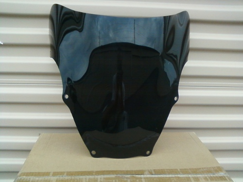 SUZUKI GSX-R600/750/1000 2001-2003 DARK SMOKE WINDSCREEN