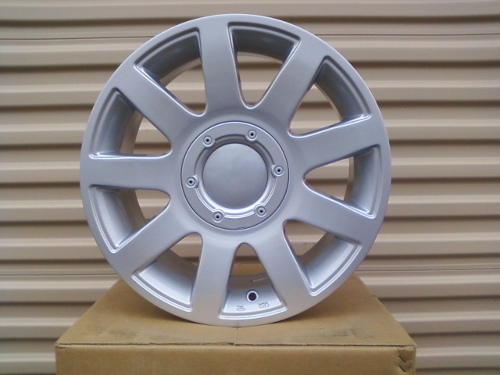 "15"" RS4 (603) OLD STYLE WHEELS SILVER 5X112/5X100 35MM"